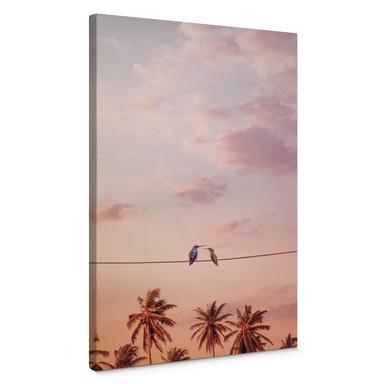 Leinwandbild Loose - Hummingbirds in Love