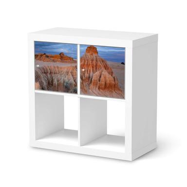 Möbel Klebefolie IKEA Expedit Regal 2 Türen (quer) - Outback Australia- Bild 1