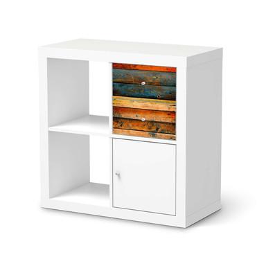 Möbelfolie IKEA IKEA Expedit Regal Schubladen - Wooden