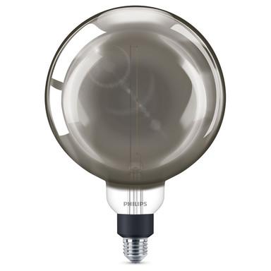 Philips LED Lampe ersetzt 25W, E27. Globe - G200. klar, Rauchglas, 270lm, dimmbar, 1er Pack EEK A
