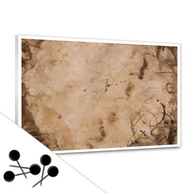 Pinwand Old Paper inkl. 5 Pinnadeln