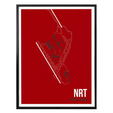 Poster 08Left - NRT Grundriss Tokyo
