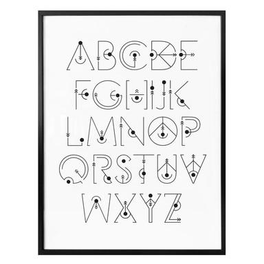 Poster Alphabet Gravity
