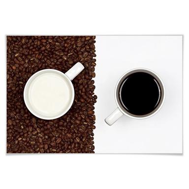 Poster Lavsen - White Espresso