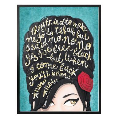 Poster Tohmé - Amy Winehouse: Rehab