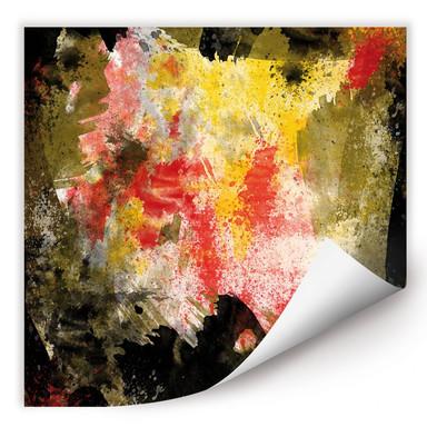 Wallprint Abstract Painting