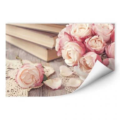 Wallprint Rosa Rosen