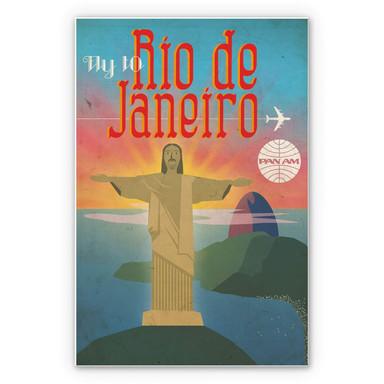 Wandbild PAN AM - Fly to Rio de Janeiro