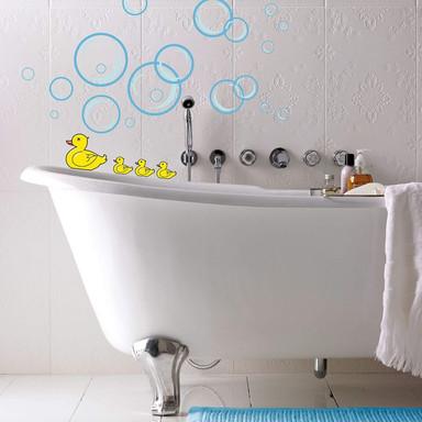 Wandsticker Entchen für das Badezimmer - Bild 1