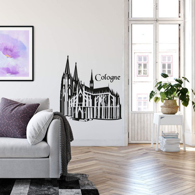 Wandtattoo Kölner Dom