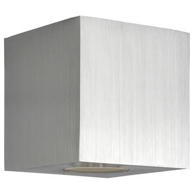 Deckenleuchte Cubic in Silber E27
