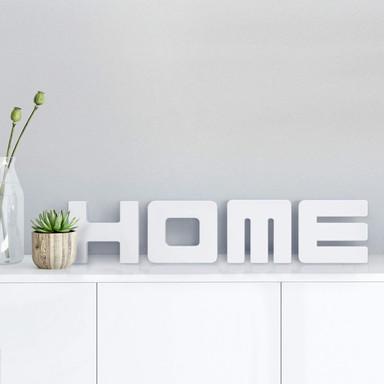 Dekobuchstaben 3D HOME 1