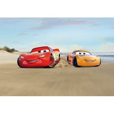 Fototapete Cars Beach Race