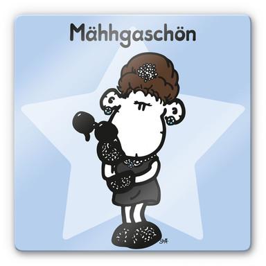Glasbild sheepworld Mähhgaschön