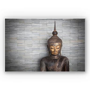 Hartschaumbild Thailand Buddha
