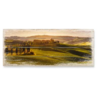 Holzbild de la Torre - Toskana - Panorama