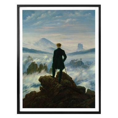 Poster Friedrich - Der Wanderer über dem Nebelmeer