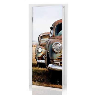 Türdeko Old Rusted Cars - Bild 1