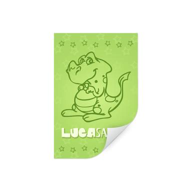 Wallprint & Wunschtext Dinosaurus