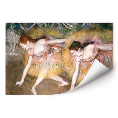 Wallprint Degas - Sich verbeugende Ballerinen