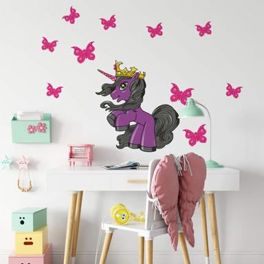 Wandsticker Filly Unicorn Beauty Claudia