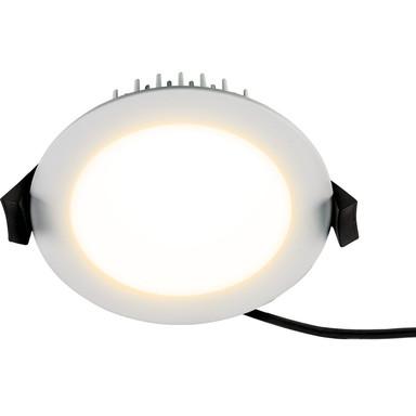 LED Einbaustrahler in Weiss 13W IP54 3000K 900lm