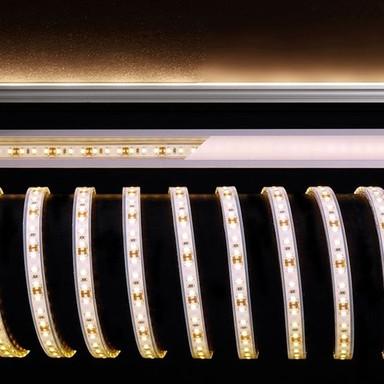 LED Stripe 3528-120-12V-2700K-5M-Silikon in Weiss 2050lm IP67