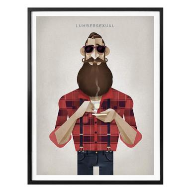 Poster Braun - Lumbersexual