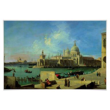 Poster Canaletto - Santa Maria della Salute