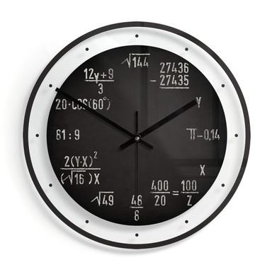 Wanduhr aus Glas - Formel Ø30cm - Bild 1