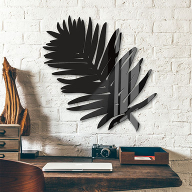 Acryldeko - Blatt Palme
