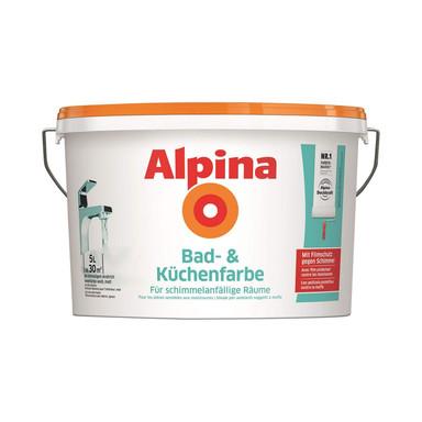 Alpina Bad- & Küchenfarbe - 5 Liter - Bild 1