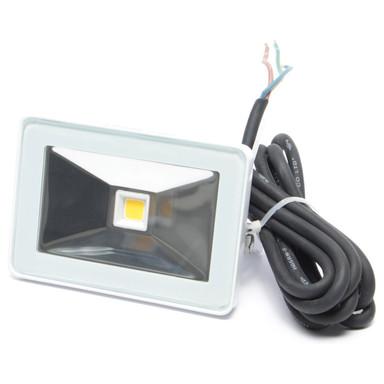 Design LED Fluter, IP65. 120 °, 20 W, 6500 K, tageslichtweiss