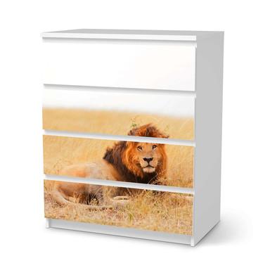 Folie IKEA Malm Kommode 4 Schubladen - Lion King- Bild 1
