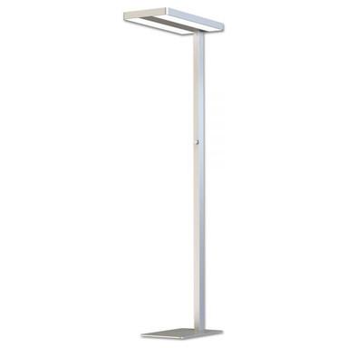 LED Office Pro Stehleuchte Up&Down, 40&40W, Licht-/Bewegungssensor, UGR
