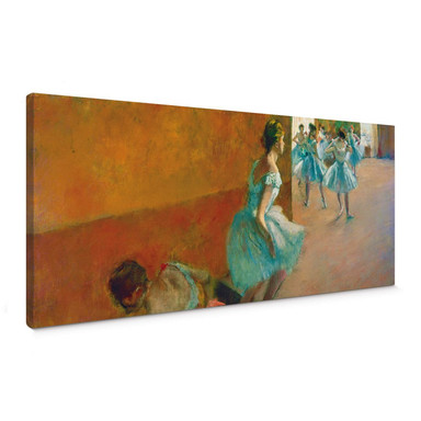 Leinwandbild Degas - Tänzerinnen auf einer Treppe