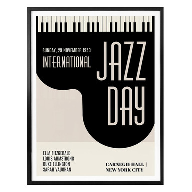 Poster Kubistika - Jazz Day