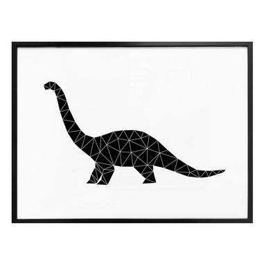 Poster Nouveauprints - Geometric Dinosaur Diplodoccus