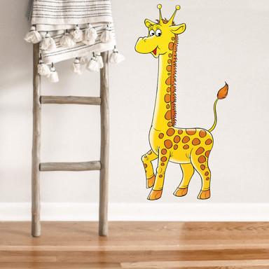 Wandsticker Giraffe 1