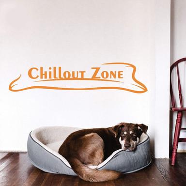 Wandtattoo Chillout Zone 3