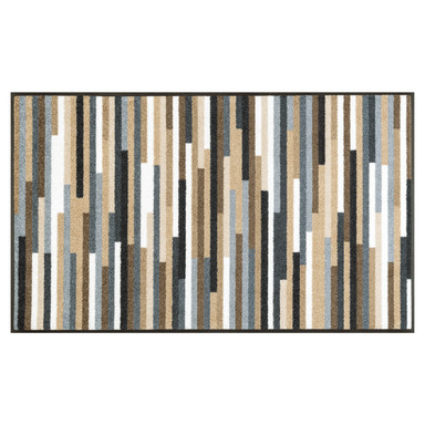 Wash&Dry Decor Fussmatte Mikado Stripes nature