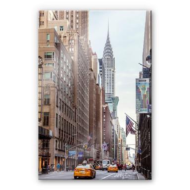 Acrylglasbild Colombo - Chrysler Building in New York