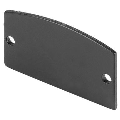 Endkappe für Glenos Linear Profil, 2er Set, schwarz