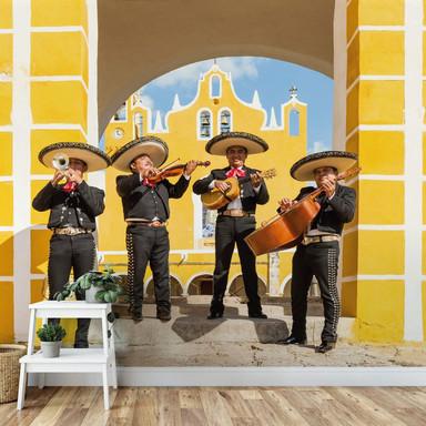 Fototapete Colombo - Mexikanische Musiker