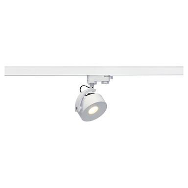 Leuchtenspot Kalu Track für 3-Phasen-HV-Stromschiene in weiss, inkl. LED, Leuchtmittel, dimmbar, dreh- und schwenkbar