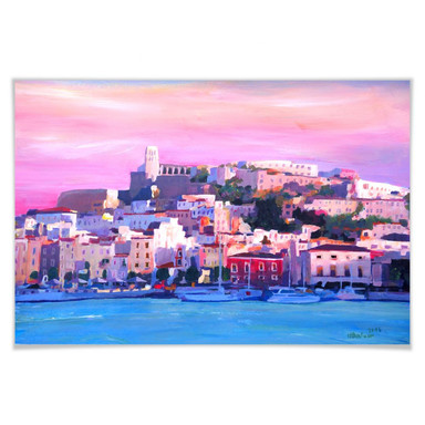 Poster Bleichner - Ibiza - The Pearl of the Mediterranean