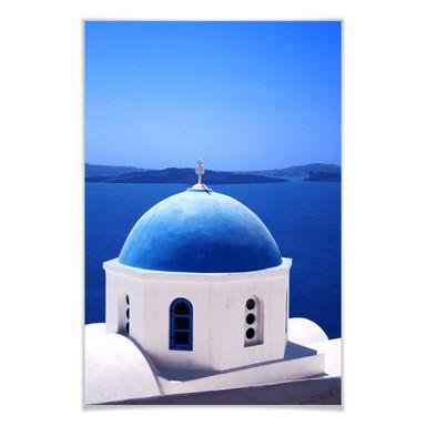 Poster Sommer in Griechenland