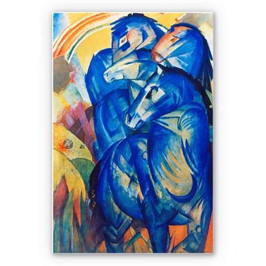 Wandbild Marc - Turm der blauen Pferde