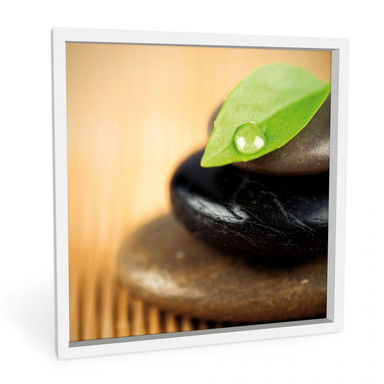 Wandbild Wellness Stone - quadratisch