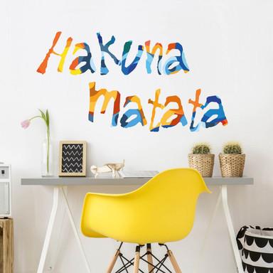 Wandsticker Hakuna Matata 4